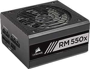 Corsair RM550x -2018-550W PC電源ユニット [80PLUS GOLD] PS804 CP-9020177-JP