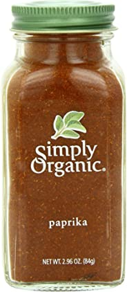 Simply Organic Ground Paprika Large Glass, 84g