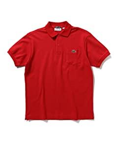 Petit Pique Polo Shirt 11-02-0165-462: Red