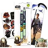 Mandalorian Party Supplies Baby Yoda Pen Bundle - 4 Pc Star Wars Mandalorian Office Accessories with Baby Yoda Pen, Stormtroo