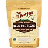 Bob's Red Mill Bob's Red Mill Organic Dark Rye Flour 567g, 567 g, No Flavour Available