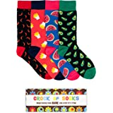 Novelty Gift Box Set of 4 Socks perfect for Christmas