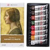 ZenART's PORTRAIT Palette Oil Paint Set ? with Earth Colours from the Infinity Series of Professional Artists' Oil Colours No