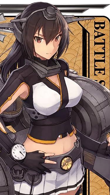 艦隊これくしょん~艦これ~  iPhone/Androidスマホ壁紙(480×854)-1 - 戦艦 長門 屈曲煙突
