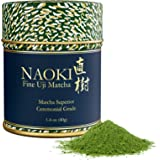Naoki Matcha (Superior Ceremonial Blend, 40G / 1.4Oz ) - Authentic Japanese Matcha Green Tea Powder Ceremonial Grade From Uji