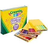 Crayola Colored Pencils, No Repeat Colors, Stocking Stuffers for Kids, 120 Count