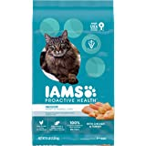 IAMS PROACTIVE HEALTH Adult Healthy Digestion Dry Cat Food for Sensitive Stomachs with Chicken and Turkey, 16 lb. Bag