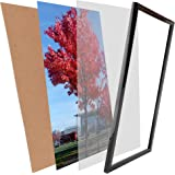 Picture Frames 11x17 Inch Picture Frame Without Mat to Display Wall Mounting 17x11 Inch Document Certificate Frames If Add Ma