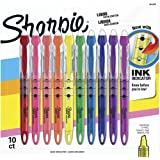 Sharpie Liquid Highlighters, Chisel Tip, Assorted Colors,