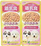 いなば ドッグフード ツインズ 離乳食 とりささみ レバー入り 80g(40g×2袋)×12個 (まとめ買い)