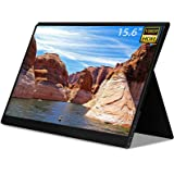 2021 Portable Monitor QLED Screen - NexiGo 15.6 Inch Full HD 1080P USB Type-C Computer Display with HDMI Type C Speakers for