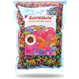 MarvelBeads Water Beads Rainbow Mix 8 oz (20000 beads) for Orbeez Spa Refill Sensory Toys and D?cor