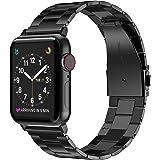 Apple Watch バンド/アップルウォッチ6 バンド,Wearlizer アップルウォッチ iwatch,Apple Watch 6/5/4/3/2/1対応 アップルウォッチ 5 apple watch 4 バンド iwatch ステンレス バ