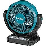 Makita MAKDCF102Z 18 Volts 180 mm Jobsite Fan with Swing Neck