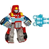 TRANSFORMERS Rescue Bots Energize - Heatwave the Fire Bot Converting Robot Action Figure - Playskool Heroes - Kids Toys - Age