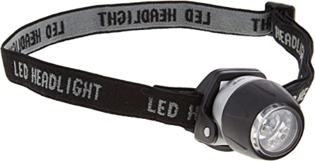 ヤザワ 3LED防滴ミニヘッドライト LZ40SV