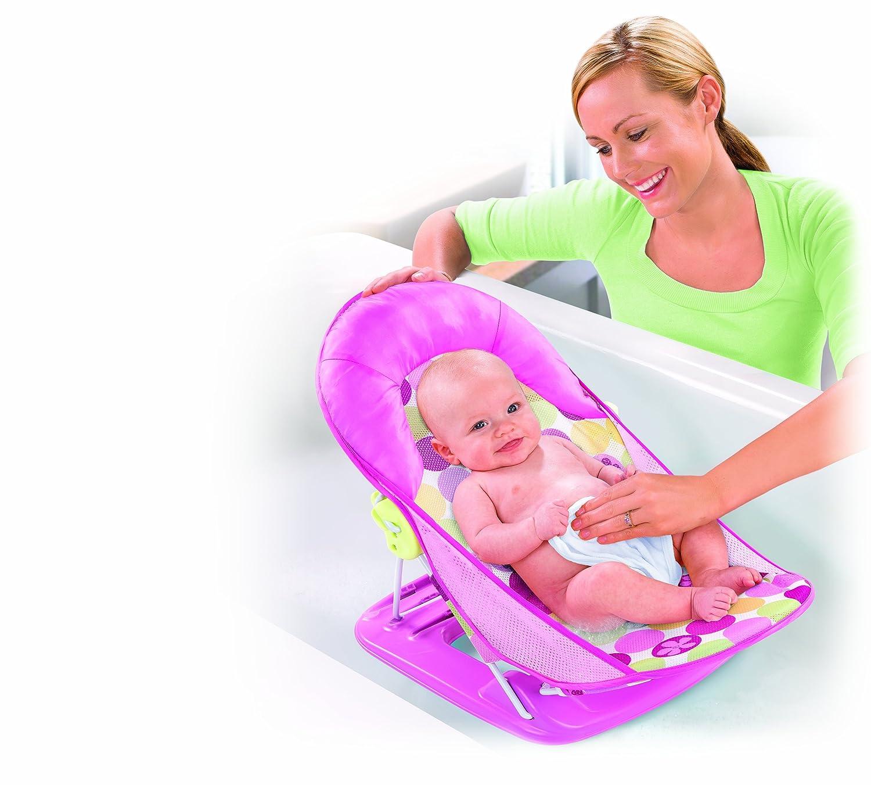 日本育児 nihonikuji 入浴補助具 ソフトバスチェア デイジー 幅約30×奥行61.5×高さ27・31・33cm 1050g 5450002001 生後まもなく~11kg対象 お子様をやさしくお風呂に入れるためのバスチェア