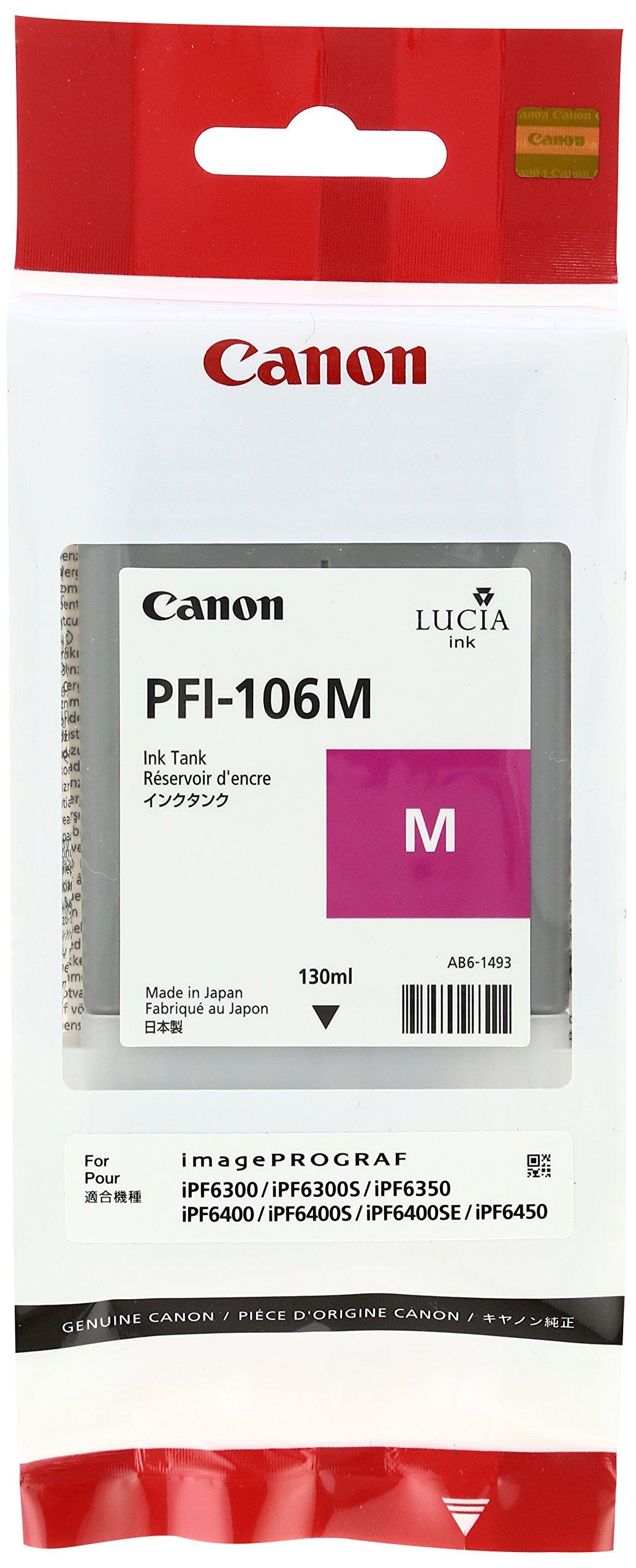 純正インクタンク マゼンタ PFI-106M 6623B001