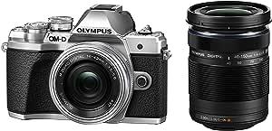 OLYMPUS ミラーレス一眼カメラ OM-D E-M10 MarkIII EZダブルズームキット シルバー