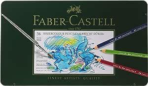 ファーバーカステル アルブレヒト デューラ水彩色鉛筆 36色 缶入 117536 [日本正規品]