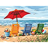 Paint by Numbers for Adults 16 x 20 inch Canvas DIY Oil Painting for Adults Kids Beginners Easy Acrylic on Canvas with Paints