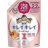 Kirei Kirei Anti-Bacterial Foaming Hand Soap 450ml Refill - Fruit Fiesta, Multi-colored