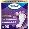 Tena Intimates Overnight Absorbency Incontinence/Bladder Control Pad with Lie Down Protection, 90 ct