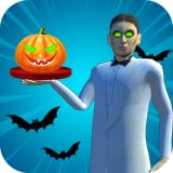 Halloween Party Restaurant Waiter