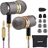 Betron YSM1000 Wired Earphones, High Definition Noise Isolating Headphones, Deep Bass, Crystal Clear Sound, Compatible with i