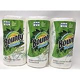 Bounty バウンティー ペーパータオル 2枚重ね 123シート × 3ロール (柄あり)