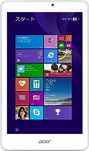 Acer Windows タブレット Iconia Tab 8 W W1-810-F11N /1GB/32GB/8インチ/Windows10無料アップデート対応