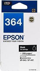 Epson T364 DuraBrite Ultra Ink, Black