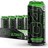 C4 Ultimate Sugar Free Sparkling Energy Drink Pre Workout Performance Drink with No Artificial Colors or Dyes, Sour Batch Bro