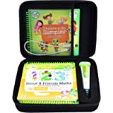 Case Compatible with LeapFrog LeapStart Go System and LeapFrog LeapStart 3D/ Pre-Kindergarten Activity Book of Level 1 2 3. S
