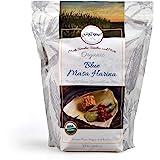 Gold Mine Blue Corn Masa Harina - USDA Organic - Macrobiotic, Vegan, Kosher and Gluten Free Flour for Healthy Mexican Dishes