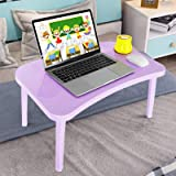 Laptop Table for Bed- Lap Desk for Kids Bed Trays for Eating and Laptops Portable Plastic Laptop Desk is Very Light and Easy