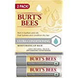 Burts Bees Ultra Conditioning Lip Balm Twin Pack, 2 count (U-C-1257)
