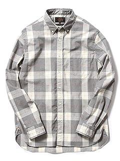 Pen Check Buttondown Shirt 11-11-2502-139: Grey