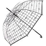 I'm ドラえもん POEアンブレラ ビニール傘 ビニ傘 60cmサイズ 大人用 ブラック