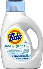 Tide Free & Gentle Liquid Laundry Detergent 32 Loads, 1.36L