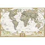 National Geographic: World Wall Map - Executive (36 x 24 poster): Wall Maps World