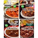 【Amazon.co.jp限定】 エスビー食品 噂の名店カレー 4種アソートセット