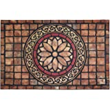 CHICHIC Entrance Door Mat Entry Way Doormat Front Door Rug Outdoor Heavy Duty Welcome Mat, Non Slip Rubber Back Low Profile f