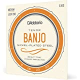 D'Addario EJ63 Nickel Tenor Banjo Strings, 9-30