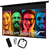 Elite Screens Spectrum, 84-inch Diag 16:9, Electric Motorized 4K Ready Drop Down Projector Screen, ELECTRIC84H