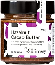 Hazelnut-Cacao Butter by 99th Monkey (6x200g Jars)