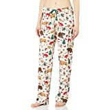 Hatley Little Blue House Women's Animal Jersey Pajama Pants