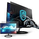 Privacy Screen Filter for 27 Inches Desktop Computer Widescreen Monitor, Anti Blue Light and Anti Glare, Aspect Ratio 16:9