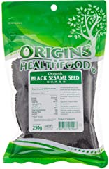 Origins Organic Black Sesame Seeds, 250g