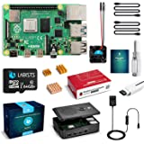 Raspberry Pi 4 4B-64GB(技適マーク入)MicroSDHCカード64G/Raspbianシステムプリインストール/カードリーダ /5.1V/3A Type-C スイッチ付電源/MicroHDMI-to-HDMIケーブルライン/三つ